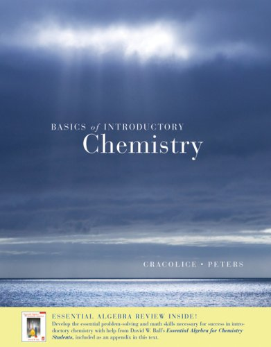 Basics of Introductory Chemistry with Math Review (with CengageNOW, Personal Tutor Printed Access Card) (Available Title