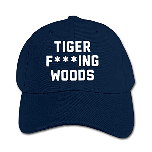 Elainely Tiger Fcuking Woods Hat Cotton Fashion Casquette Adjustable Baseball Cap for Children Navy