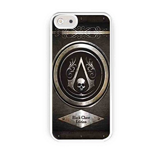Cooliphone4Cases.com-2560-Assassins Creed Black Chest Edition iPhone 5s Case, iPhone 5 Case-B01LXYMPED-T Shirt Design