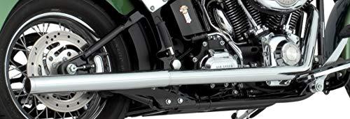 (Vance & Hines True Duals Exhaust Chrome 16793 )