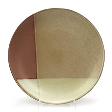 Amazon.com | Gold Dust Sienna by Sango, Stoneware Dinner Plate ...