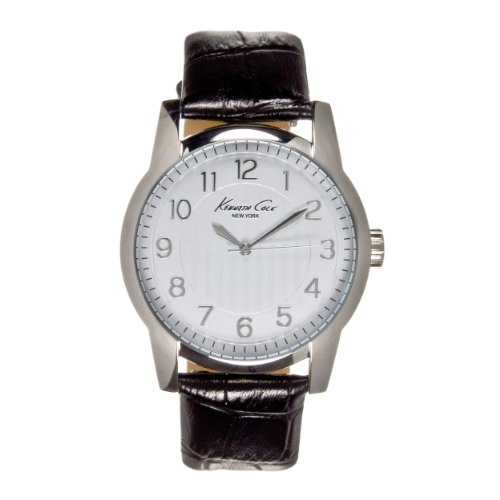 Kenneth Cole New York Leather - Black Men's watch #KC5170