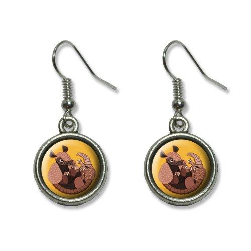 Graphics and More Armadillo Texas Cingulata Novelty Dangling Dangle Drop Charm Earrings (Armadillo Costume)