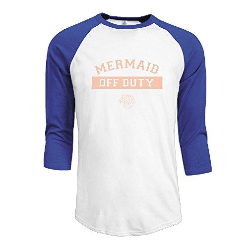 MarskTOTO Mermaid Off Duty Distressed Men Fashion Raglan XL - Free Shop Duty Melbourne