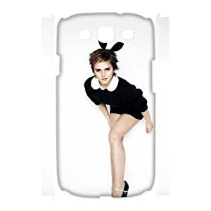 Hjqi - DIY Emma Watson 3D Phone Case, Emma Watson Personalized Case for Samsung Galaxy S3 I9300