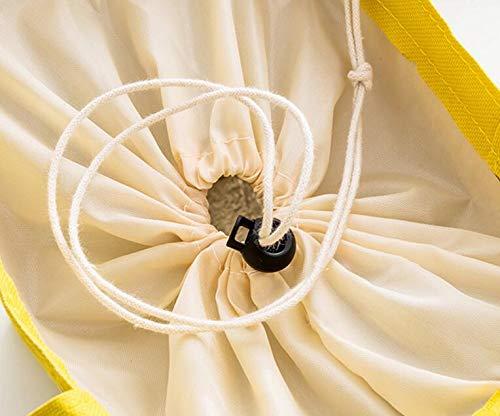Lunch D'étudiant De Pour À Papier Bellecita Et D'oxford Créatif jaune Sac Le Portatif D'aluminium Travail L'école Isolé PwExxSFq