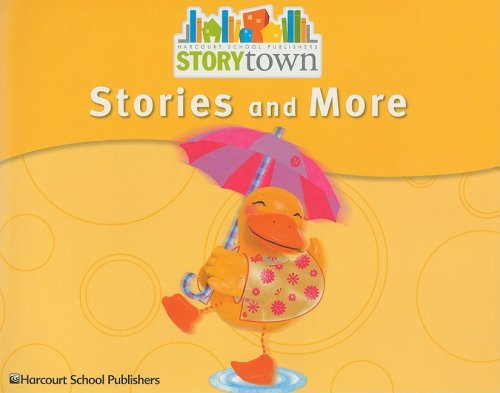 Storytown: Stories and More Pre-K