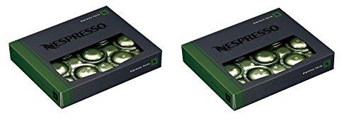 Nespresso Espresso forte (1 box of 50 capsules) for Commercial Machines (2 boxes - 100 capsules)