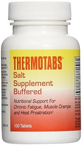 Thermotabs Salt Supplement, Buffered, 100 tablets