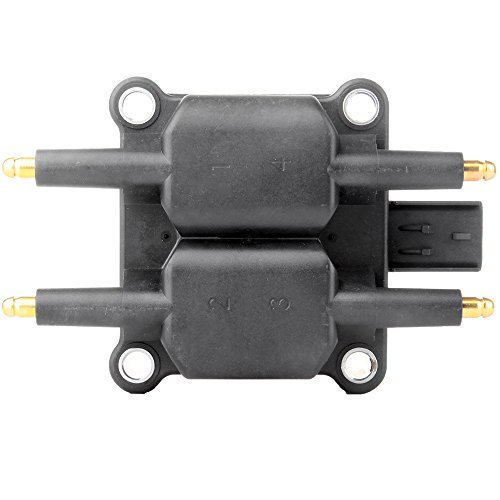 - ECCPP Ignition Coil Pack of 1 Compatible with Chrysler Dodge Jeep 1997-2010 Replacement for UF403 C1136
