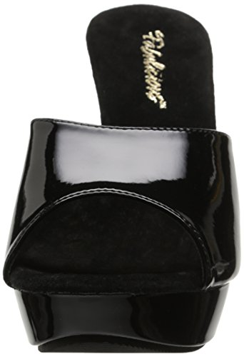 Fabulicious Cocktail-501 - Zapatos Mujer negro (Blk/Blk)