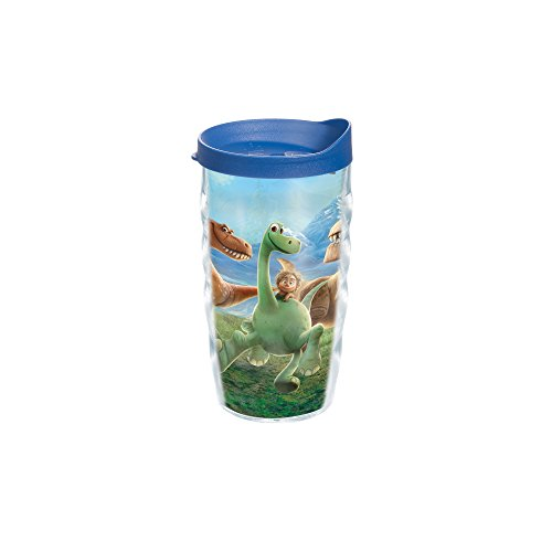 Tervis Dino Adventure Tumbler with Travel Lid, 10 oz, Clear