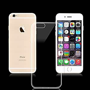 SHOUJIKE Ultra-Thin 0.03mm Transparent Back Cover for iPhone 6 (Assorted Colors) , Golden