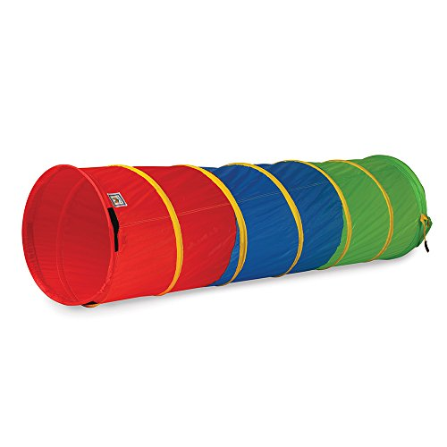 Pacific Play Tents 21409 Kids 6-Foot Find Me Multicolor Crawl/Play Tunnel, 6 x 19 Diameter