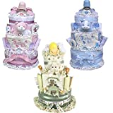 3 Tiered Diaper Cake (Boy, Girl or Neutral)