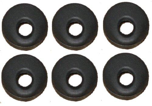 Universal Black Rubber Eargel Compatable