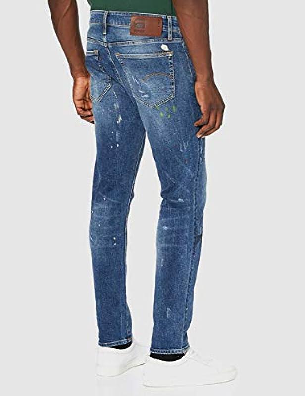 G-STAR RAW Męskie dżinsy 3301 Slim: Odzież