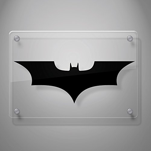 """Batman Forever Decal Sticker for Car Window, Laptop, Motorcycle, Walls, Mirror and More. # 451 (4"""" x 11.5"""", Black)"""