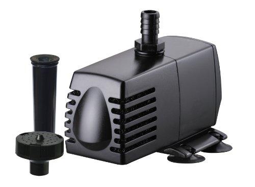 025033824102 - Hampton Water Gardens AHM82410 Pump/Fountain Head Kit for Aquarium Filter, 160-Gallon carousel main 0