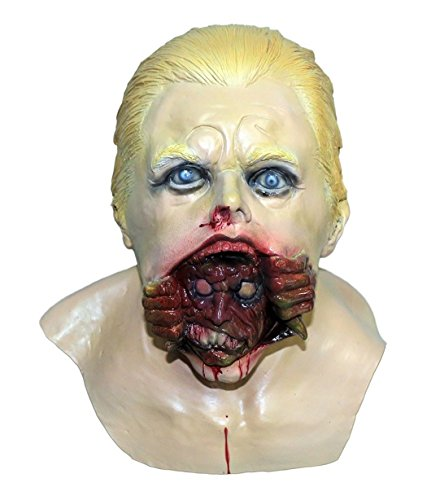 (Latex Full Human Head Mask Man Male Old Man Disguise Mask Party Costumes Cosplay Fancy Dress Props (Zombie Man Mask))