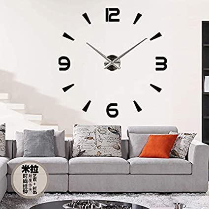 Wall Clock Reloj De Pared Quartz Watch Living Room Large Decorative Clocks Modern Horloge Murale Still