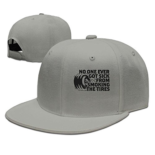 WYF Men&women No One Ever Got Sick From Smoking Tires Casual Style Travel Ash Hat Adjustable Snapback