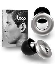 Loop Experience Oordoppen - Zachte, Herbruikbare Gehoorbescherming in Silicone + 8 Ear Tips in XS/S/M/L - 18dB Geluidsvermindering - voor Concerten, Muziek, Concentratie, Focus & Motorrijden