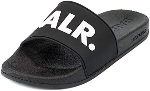 [ボーラー]BALR シャワーサンダル 10247 BALR. Slider メンズ Black/White size42 [並行輸入品]