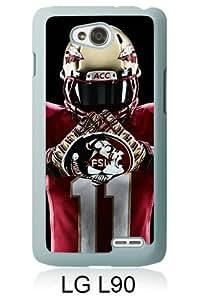 LG L90 Screen Case ,Florida State Seminoles 4 White LG L90 Cover Fashion And Unique Designed Phone Case