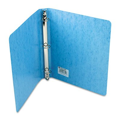 Acco Recycled Presstex Round Ring Binder, 1in Capacity, Light Blue - (Pack of 20)