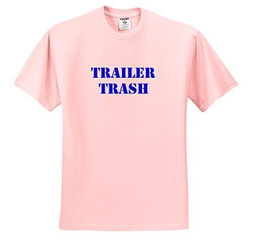 Trailer Trash - Trailer Trash Blue - T-Shirts - Light Pink Infant Lap-Shoulder Tee (18M) (TS_261007_71)