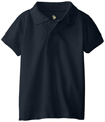 (U.S. Polo Assn. Boys Shirt (More Styles Available), Classic Navy, 2T)
