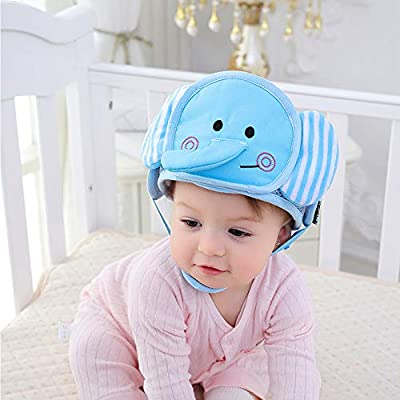 G-Tree Baby Safety Helmet, Infant Toddler Children Anti-Collision Head Protective Cap, Adjustable Harnesses Head Protector No Bumps Head Cushion Safety Helmet