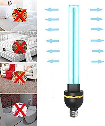 UV-Desinfektionslampe 40W, UVC-Licht zur Sterilisation der Ozondesinfektion, explosionsgeschützte Quarzglasröhre mit E27-Birne