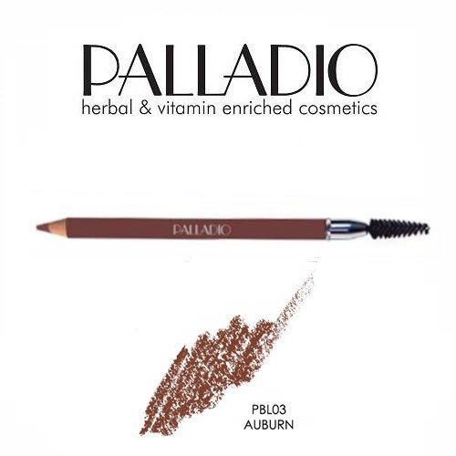 2 Pack Palladio Beauty Eyebrow Pencil 03 Auburn