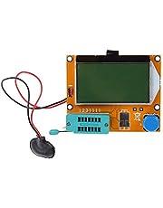 ESR Meter Mega 328 Transistor Tester Digital V2.68 ESR-T4 Diode Triode Capaciteit MOS/PNP/NPN LCD 12864 LCD-scherm Tester Multimeter-testleiding (Kleur : A)