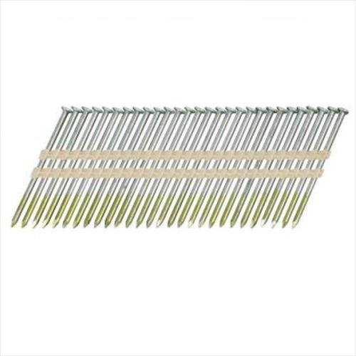 Hitachi A3X131/22 Round Head 3-Inch x .131 x 22 Degree Bright Smooth Shank Plastic Collated Framing Nails (1,000 per (20 Degree Round Head)