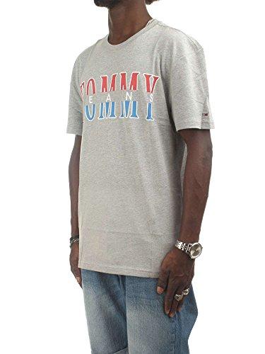 Logo Divisà Shirt © Jeans Tommy Man Gray T wq8SvHPA