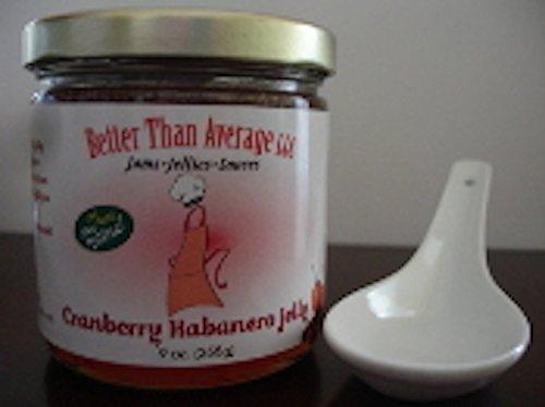 Better Than Average LLC Gourmet Cranberry Habanero Jelly (Better Than Average Llc compare prices)