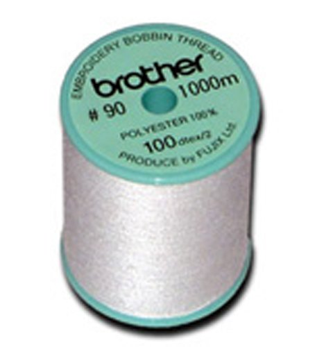 White Brother 5 Pack EBTPE 90-Weight Embroidery Thread