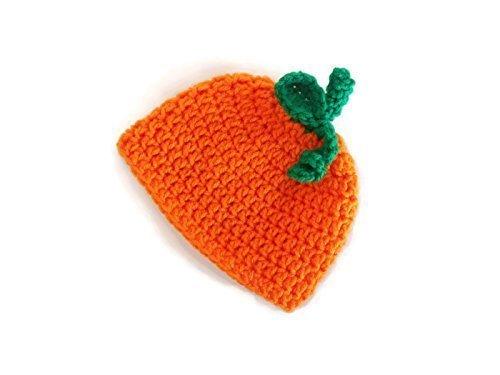 881fc885e4b Amazon.com  Crochet Baby Pumpkin Hat