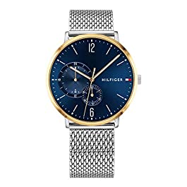 Tommy Hilfiger Mens Multi dial Quartz Watch with Stainless Steel Strap 1791505