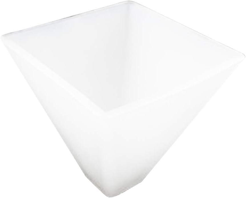 Molde de resina con forma de pirámide (43R5)