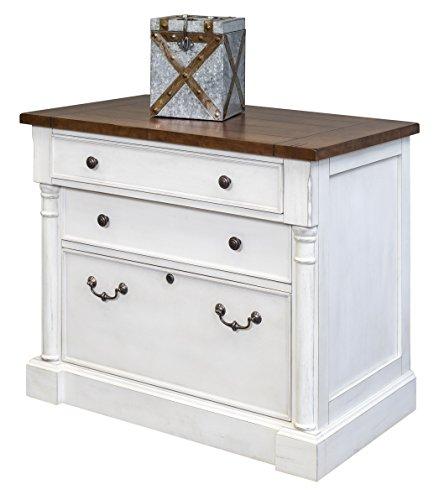 Martin Furniture Durham Lateral File, White
