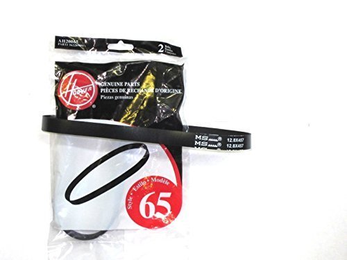 Hoover WindTunnel T-Series Style 65 Replacement Belts 4 Pack PackageQuantity: 2 Model: