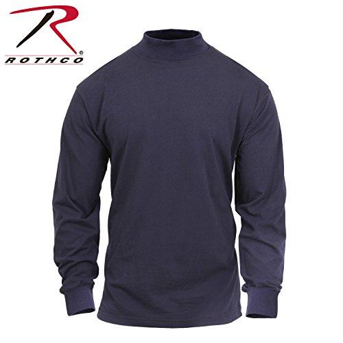 Rothco Mock Turtleneck, Midnight Navy Blue, XX-Large