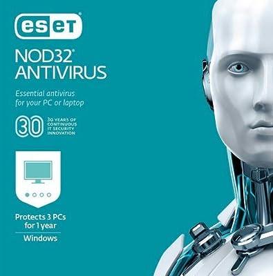 ESET NOD32 Antivirus 2019 - 3 PCs / 1 year (Product Key Card)