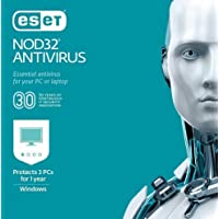 ESET NOD32 Antivirus 2019 3 PCs Digital Deals