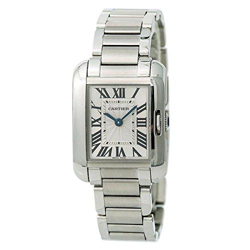 Cartier Tank Anglaise quartz female Watch W5310022 (Certified Pre-owned) (Tank Cartier Watch Women)