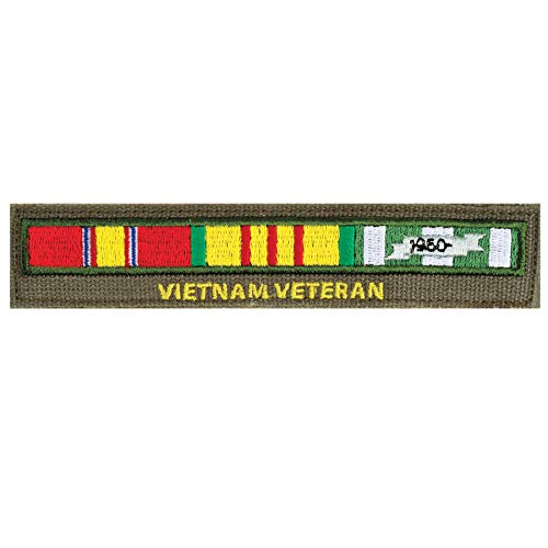 Medals of America Vietnam Veteran Ribbon Bar Name Tape